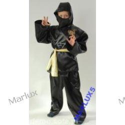 Strój Ninja żółty 134/140