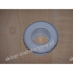 Redukcja gumowa biała 50 x 40 do rury PCV PVC PCW