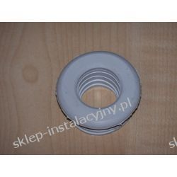 Redukcja gumowa biała 50 x 25 do rury PCV PVC PCW