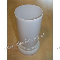 Króciak przyłącze rura odpływowa do muszli WC kompakt 25 cm
