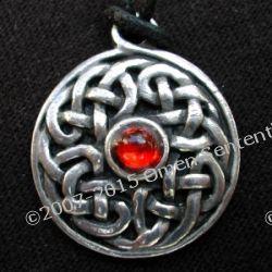 Węzeł celtycki Sidhe  - amulet Celtów. Amulet energii pozytywnych- ochrania i usuwa złe energie