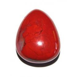 Talizman jaspis czerwony - Oczyszcza kanaly energetyczne. Pomaga rozwinac intuicje i oczyscic nalecialosci karmiczne z poprzednich inkarnacji. Pomaga walczyc z problemami i usuwa uczucie strachu.