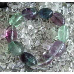 Bransoletka Fluoryt tęczowy - 100% naturalna - piękna, magiczna i naenergetyzowana
