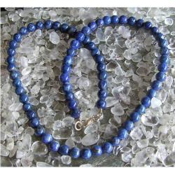 Naszyjnik z naturalnego Lapis Lazuli tylko 1 sztuka - piękny, magiczny i naenergetyzowany