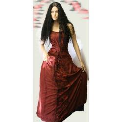 Suknia do praktyk magicznych 36,38,40,42, różne kolory. Wyszywana ręcznie, aksamitne elementy