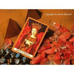 złoty GOLDEN TAROT - nowe karty Tarota poświęcone i namaszczone
