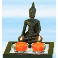 Budda - świecznik na malutkie świeczki tzw. podgrzewacze teelighty