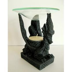 Lampka na olejki eteryczne - skrzydlaty smok