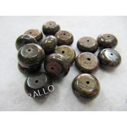 Bronzyt - oponka 12x7mm