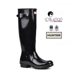 HUNTER kalosze *original gloss* black