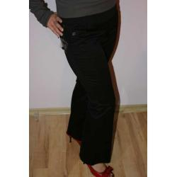 Spodnie czarne ciążowe