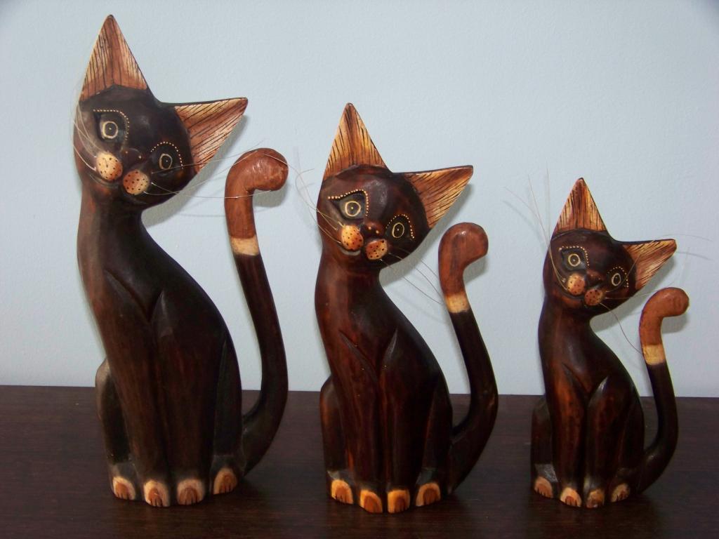 Inne rodzaje Drewniane koty - sprawdź! DR52