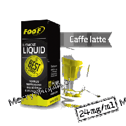 Liquid FOOF Caffe Latte extra high 10 ml