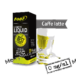 Liquid FOOF Caffe Latte zero 10 ml