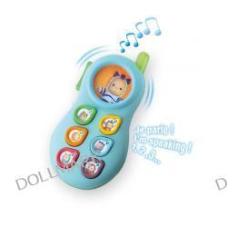 Smoby Cotoons - Telefon 3 jezykowy UCZY LICZB i...