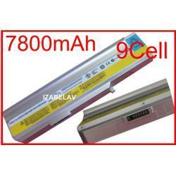 Bateria IBM Lenovo 3000 N100 N200 C200 0768 7800mA