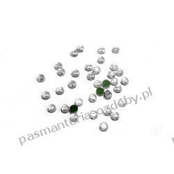 DŻETY termoprzylepne SS10 3 mm -1g (80szt) - srebrny przezroczysty