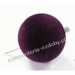 KORALIKI ZAMSZOWE- KULA 20 mm -2 sztuki / 8 kol. Akrylowe
