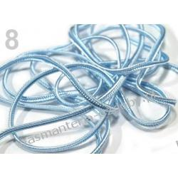 SUTASZ sznurek 3mm - 17 kolorów do wyboru /1metr Szablony i maski