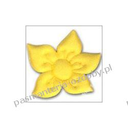 APLIKACJE -kwiat narcyz (5,8 x 6cm) różne kolory/3 Drewniane