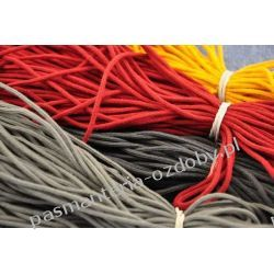 SZNUROWADŁA sznurówki OKRĄGŁE 3mm/60 cm czerwony