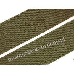 Guma gładka, tkana szer. 20mm khaki 1m Akcesoria  krawieckie