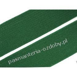Guma gładka, tkana szer. 20mm zielona 1m Akcesoria  krawieckie