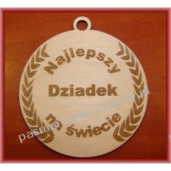 Dzień Dziadka - MEDAL Najlepszy Dziadek na świecie Crackle