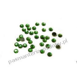 DŻETY termoprzylepne SS10 3 mm -1g (80szt) - ciemny zielony Nici