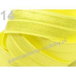 GUMA / GUMKA lamówka  19 mm / 1m - żółty Nici