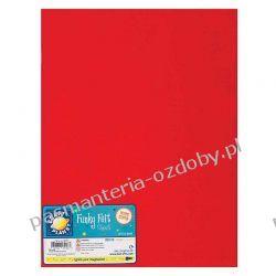 FILC  np do sutasz - arkusz 20x30 cm / 1-2mm - czerwony Akrylowe