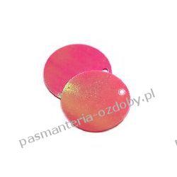 CEKINY TĘCZOWE KOŁA 20mm 6g(około 55szt) - różowy Włóczki