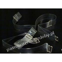 Ramiączka silikonowe, haczyki metalowe, szer. 15mm Nici