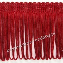 FRĘDZLE czerwone 8cm/0,5  np. do sukienki, bluzki Przedmioty do ozdabiania