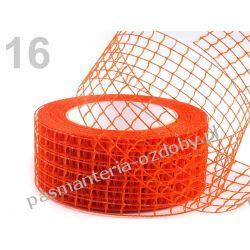 WSTĄŻKA SIATKA HURT- 10 metrów - ciemny pomarańczowy
