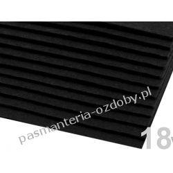 FILC sztywny -ark.20x30cm/2-3mm 416g/m2 - czarny Szklane zwykłe
