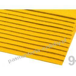 FILC sztywny -ark.20x30cm/2-3mm 416g/m2 - żółty Nici