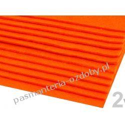 FILC sztywny -ark.20x30cm/2-3mm 416g/m2 - pomarańczowy Akcesoria