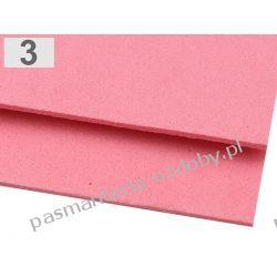 PIANKA DO DEKORACJI 2 mm arkusz 20x30cm - różowy Zamki i zapięcia