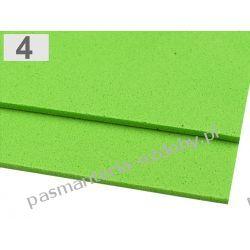 PIANKA DO DEKORACJI 2 mm arkusz 20x30cm - jasny zielony Nici