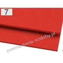 PIANKA DO DEKORACJI 2 mm arkusz 20x30cm - czerwony Zamki i zapięcia
