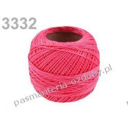 KORDONEK nici Perlovka NITARNA 60x2 10g/85m - różowy Drewniane
