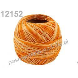 KORDONEK nici Perlovka OMBRE NITARNA 60x2 10g/85m - cieniowany pomarańczowy