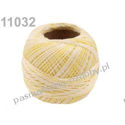 KORDONEK nici Perlovka OMBRE NITARNA 60x2 10g/85m - 11032 cieniowany jasny żółty Nici