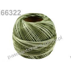 KORDONEK nici Perlovka OMBRE NITARNA 60x2 10g/85m - cieniowany zielony Nici