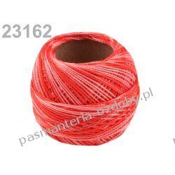 KORDONEK nici Perlovka OMBRE NITARNA 60x2 10g/85m - cieniowany różowo-czerwony Taśmy i tasiemki