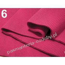 Ściągacz elastyczny bawełna 16x80cm - amarantowy Dodatki i ozdoby