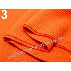 Ściągacz elastyczny bawełna 16x80cm - pomarańczowy Pozostałe
