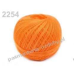 KORDONEK nici Snehurka 50x3 30g/200m - pomarańczowy Drewniane
