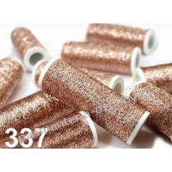 NICI METALIZOWANE METALUX- 60m - miedziany Akrylowe
